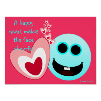 Un corazón feliz - 15:13 de los proverbios poster