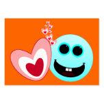 Un corazón feliz - de los proverbios del 15:13 de tarjetas personales
