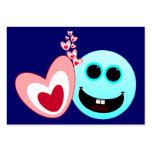 Un corazón feliz - de los proverbios del 15:13 de plantilla de tarjeta personal
