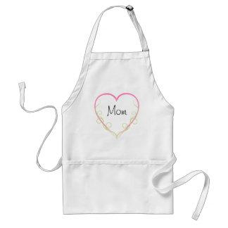Un corazón para la mamá delantal