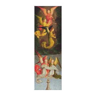 Un coro de ángeles, 1459 impresiones en lona