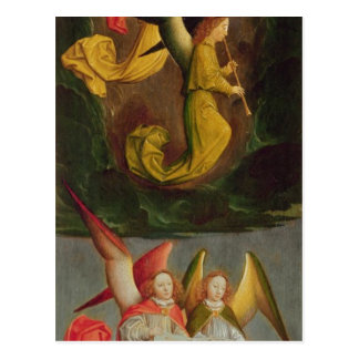 Un coro de ángeles, 1459 postal