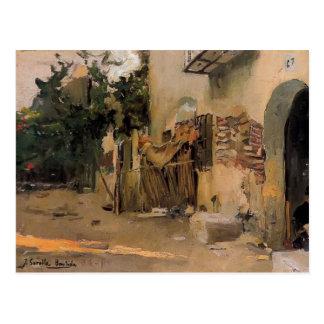 Un cortijo en Valencia de Joaquín Sorolla Postales