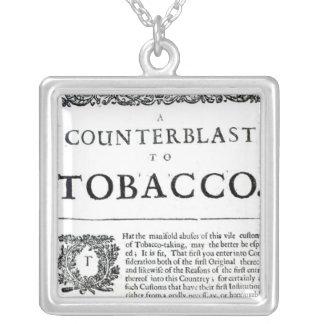 Un Counterblast al tabaco Collares