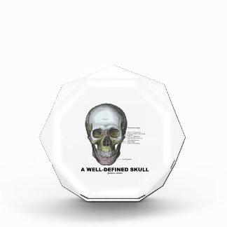 Un cráneo bien definido (anatomía médica)