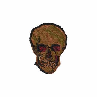 Un cráneo de Vincent van Gogh Sudadera Bordada