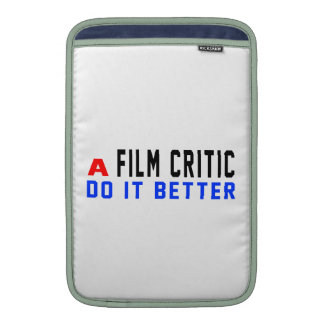 Un crítico de cine mejora funda  MacBook