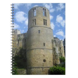 Un cuaderno de la torre