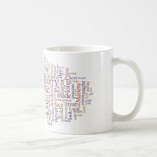 Un cuento de dos ciudades tazas de café
