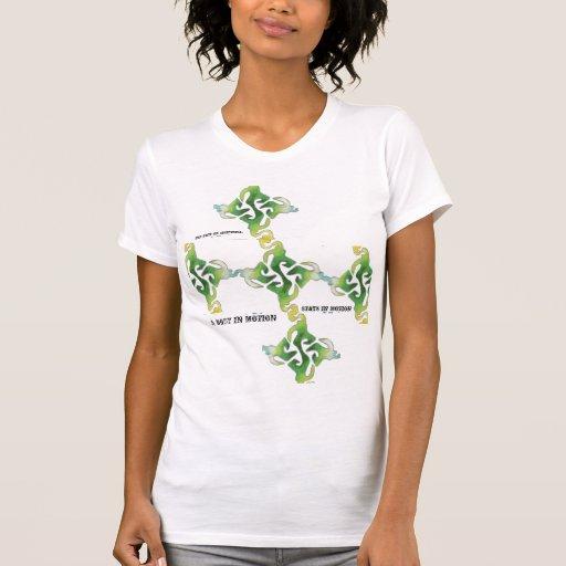 Un cuerpo en el movimiento camiseta
