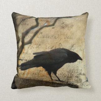 Un cuervo almohada