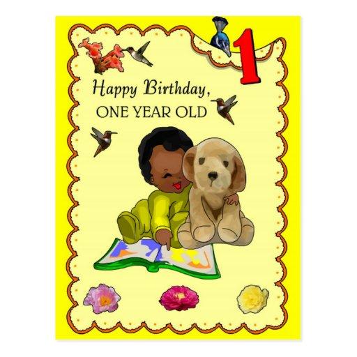 Un cumpleaños año postal