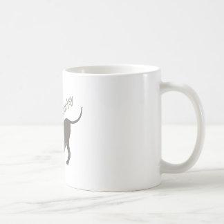 Un Curtsy del perrito Tazas De Café