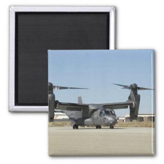 Un CV-22 Osprey se prepara para el despegue Imán Para Frigorífico