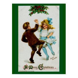 Un ~ de las Felices Navidad v.2 Postal