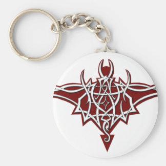 Un-Dead Bat Logo (Red) Keychains