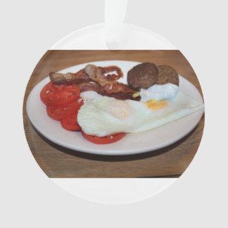 Un desayuno grande