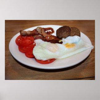 Un desayuno grande impresiones