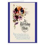 Un deseo del cumpleaños tarjeta