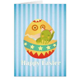 Un deseo dulce de Pascua Tarjeta De Felicitación