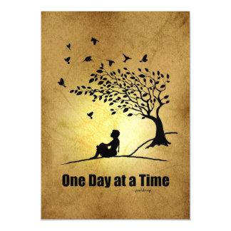 Un día a la vez - (1 hembra del día a la vez) invitaciones magnéticas