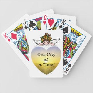 Un día a la vez baraja cartas de poker
