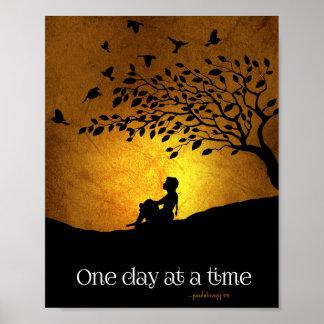 Un día a la vez (hembra de la recuperación de 12 póster