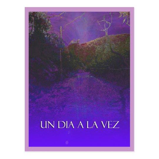 UN DIA A LA VEZ (One Day at a Time) Postcard