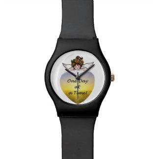 Un día a la vez relojes de pulsera