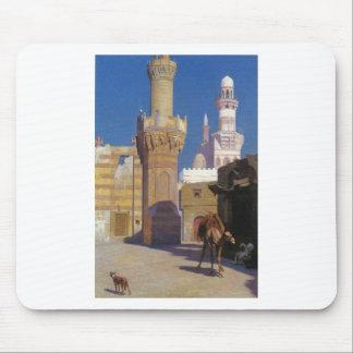 Un día caliente en El Cairo (frente de la Alfombrillas De Ratón
