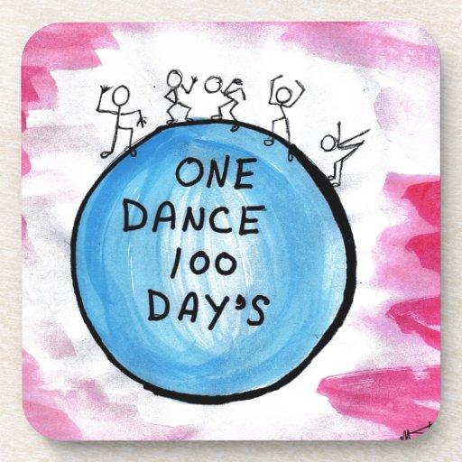Un día de la danza 100 posavasos de bebidas