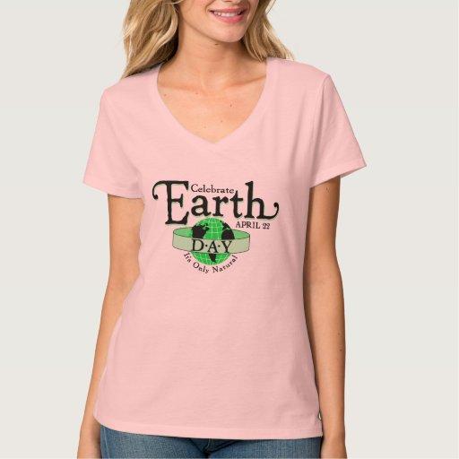 Un Día de la Tierra de la celebración Camisas