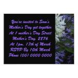 Un día de madre apenas para usted invitaciones personalizada