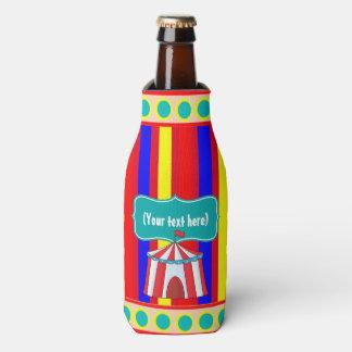 Un día en el fiesta de los niños del circo enfriador de botellas