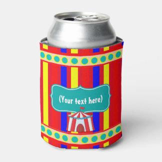 Un día en el fiesta de los niños del circo enfriador de latas