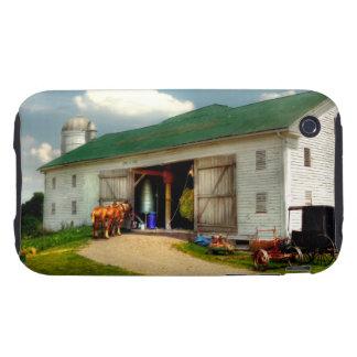 Un día en la granja iPhone 3 tough cobertura