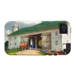 Un día en la granja iPhone 4 carcasas