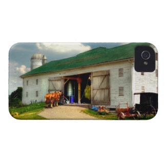 Un día en la granja iPhone 4 Case-Mate cárcasa