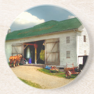 Un día en la granja posavasos personalizados