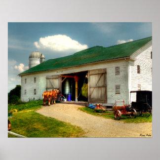 Un día en la granja poster
