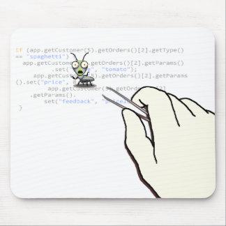Un día en la ingeniería de programas informáticos tapete de ratones