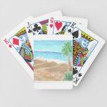Un día en la playa baraja de cartas