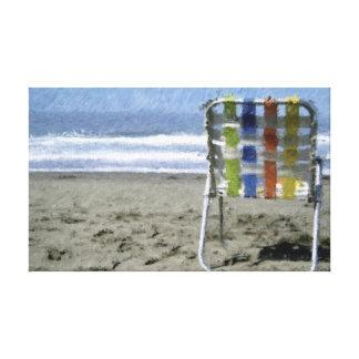 Un día en la playa… impresiones en lona estiradas