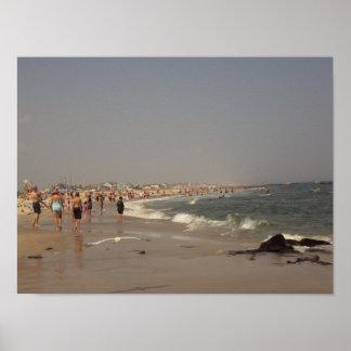 Un día en la playa impresiones