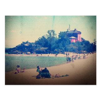 Un día en la playa postales