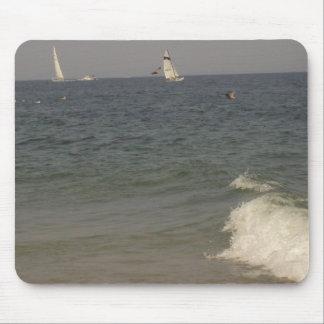 Un día en la playa alfombrillas de ratón