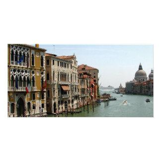 Un día en Venecia Tarjeta Personal