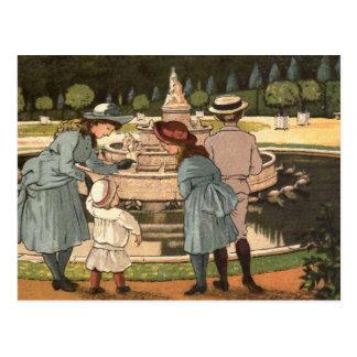 """""""Un día en Versalles """" Tarjeta Postal"""