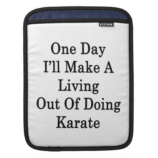 Un día haré A que vive fuera de hacer karate Manga De iPad