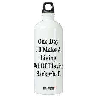 Un día haré A que vive fuera de jugar Basketba